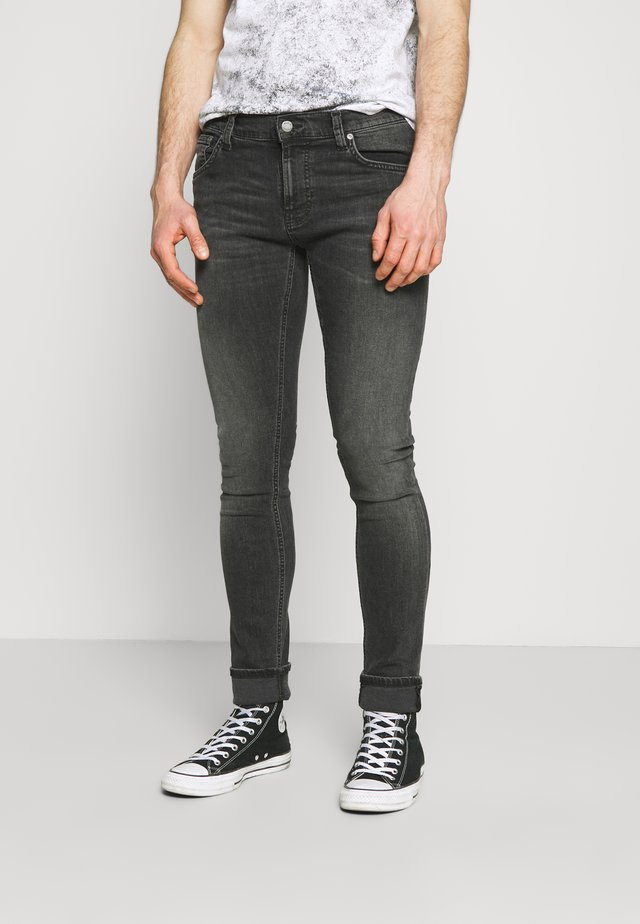 TIGHT TERRY UNISEX - Vaqueros pitillo - fade to grey