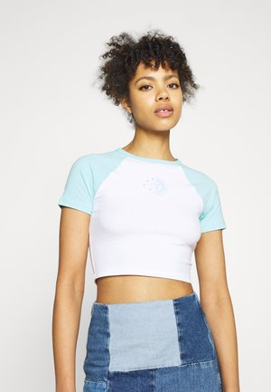 Print T-shirt - aqua splash