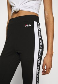 Fila - TASYA - Leggings - Trousers - black/bright white