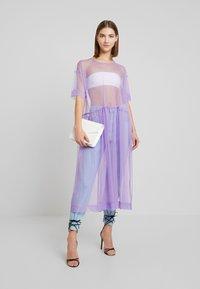 Monki - SILVIA DRESS - Korte jurk - tulle purple - 2
