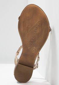 Lazamani - Sandals - biscuit - 6