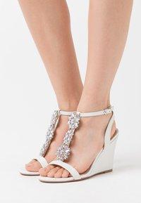Lulipa London - LIZZIE WEDGE - High heeled sandals - white - 0