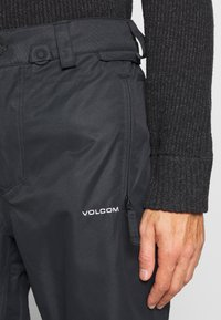 Volcom - HUNTER PANT - Snow pants - black - 4