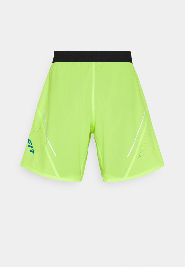 ALPINE PRO SHORTS - Urheilushortsit - fluorescent yellow