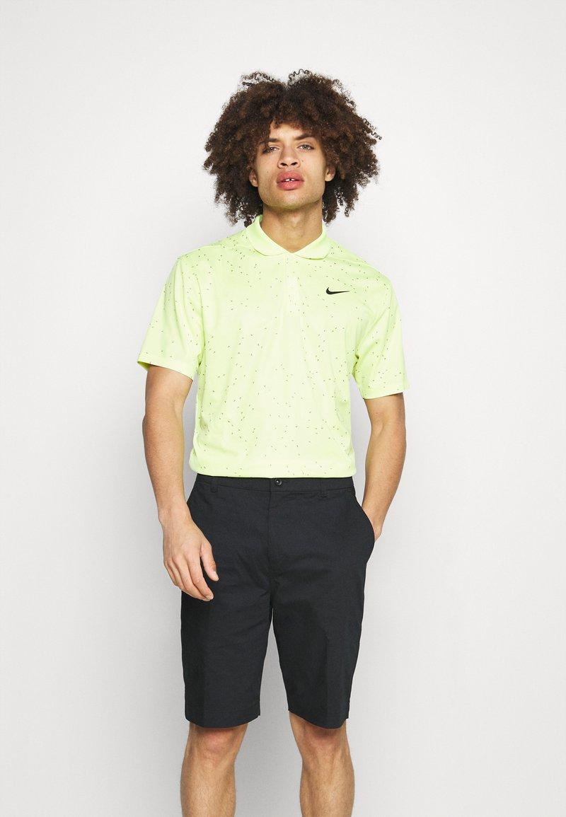 Nike Golf - DRY FIT VICTORY  - Pikeepaita - lemon twist/black