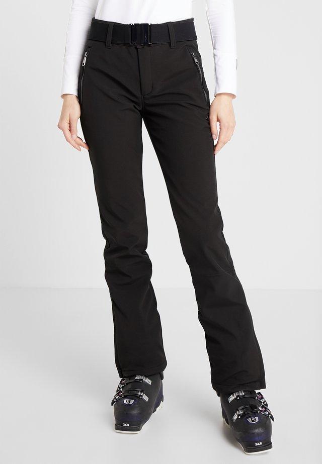 JOENTAUS - Spodnie narciarskie - black