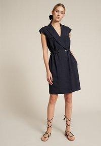 Luisa Spagnoli - Day dress - blu - 0