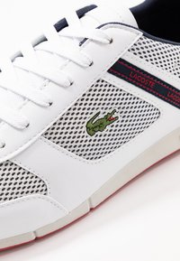 Lacoste - MENERVA SPORT - Sneakers laag - white/navy - 5