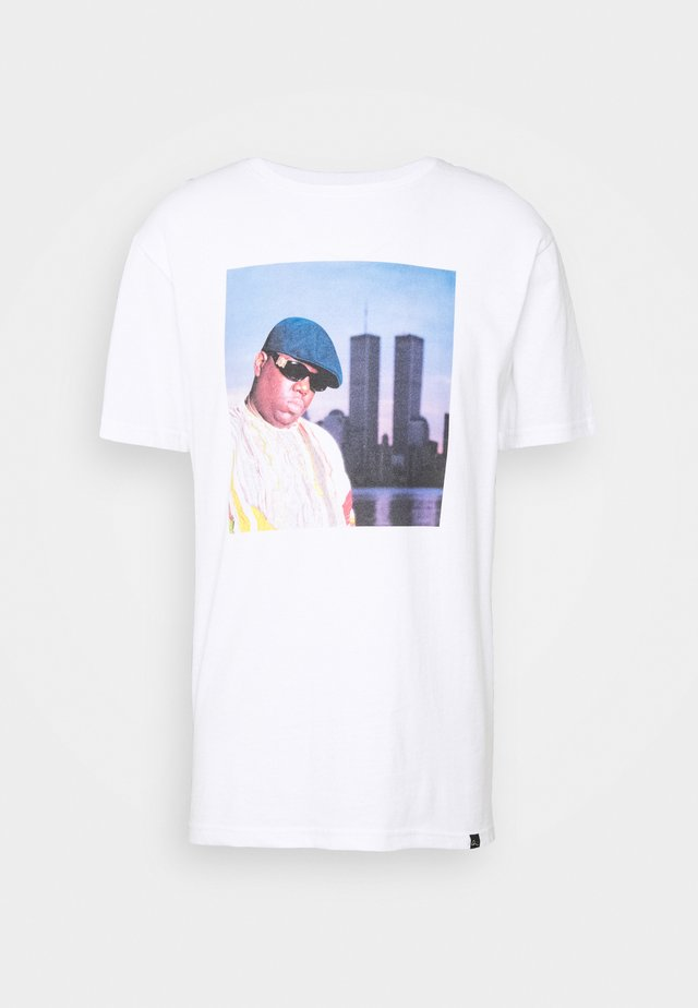 BIGGIE - T-shirts print - white
