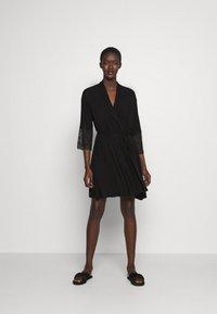 Etam - LIDDY DESHABILLE - Dressing gown - noir - 0