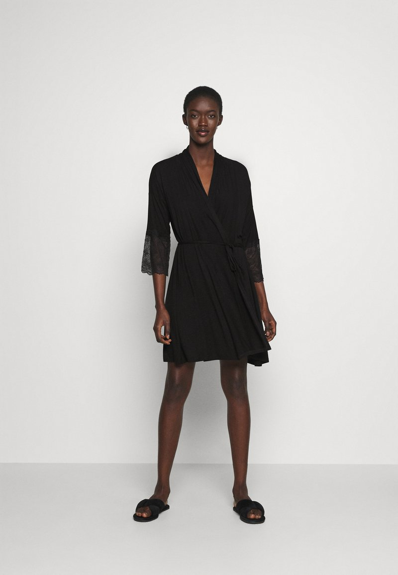 Etam - LIDDY DESHABILLE - Dressing gown - noir
