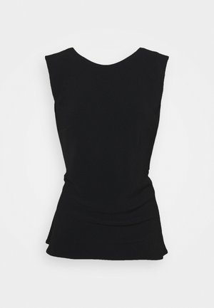 BOUQUET BACK TANK - Top - black