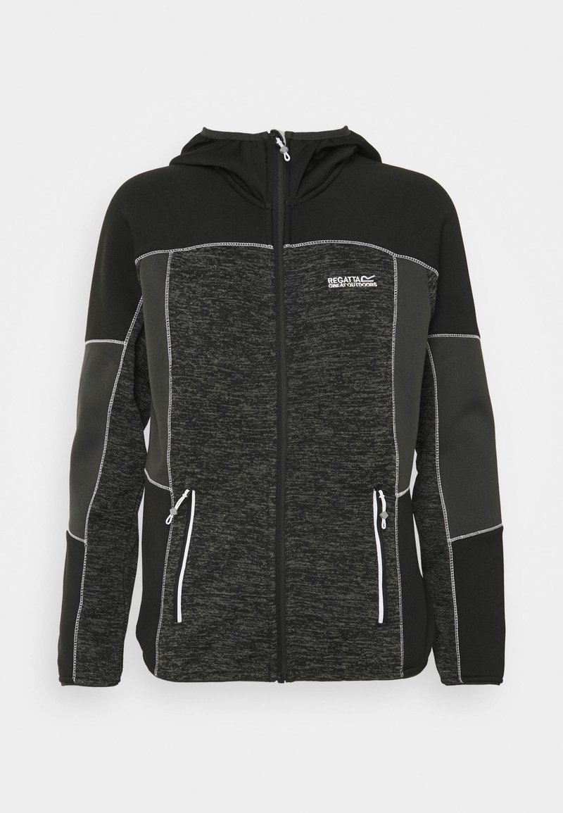 Regatta - WALBURY II - Fleece jacket - black/ash