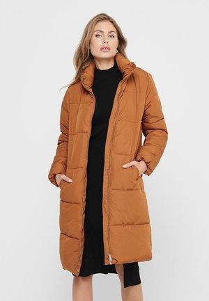 Dunfrakker - leather brown