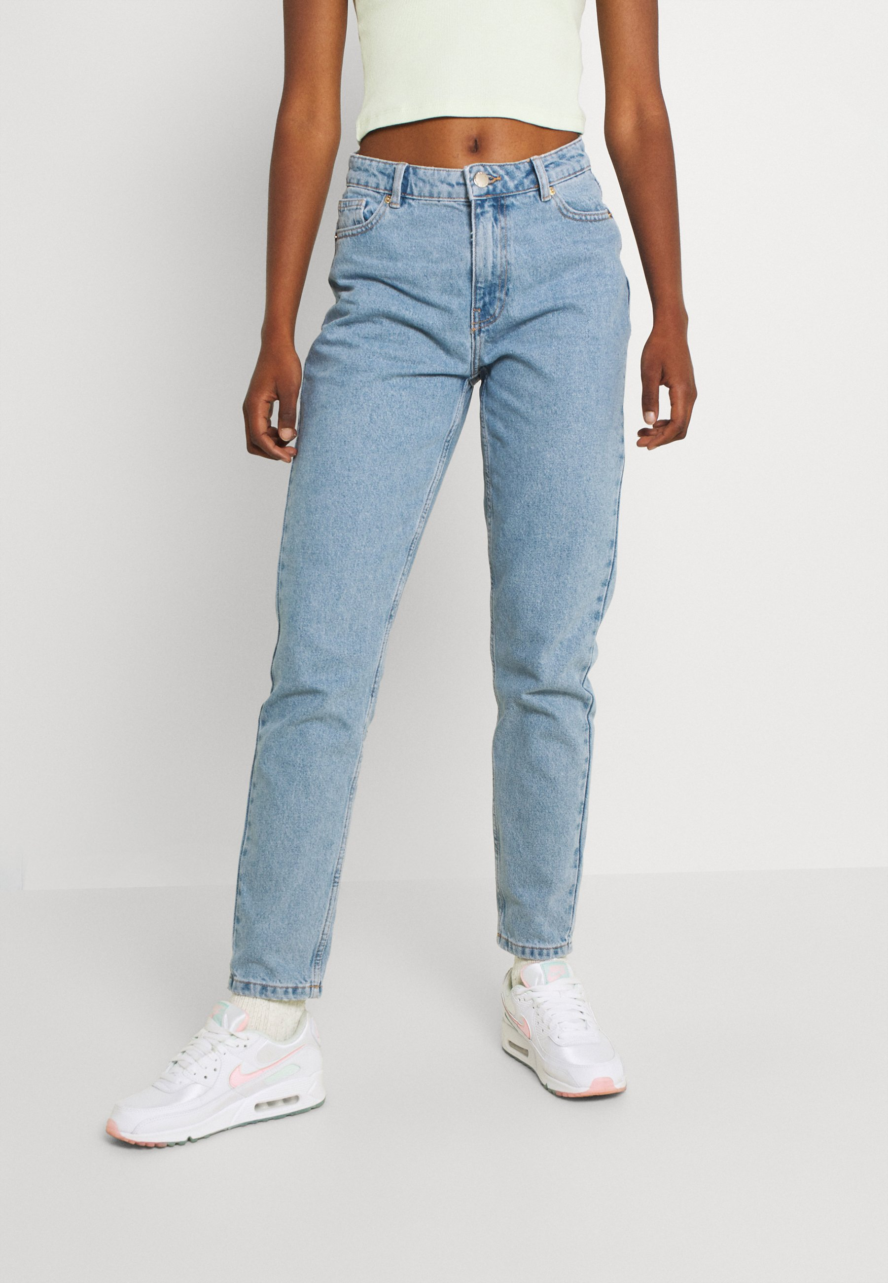 Women ONLJAGGER LIFE HIGH MOM ANKLE - Jeans Tapered Fit