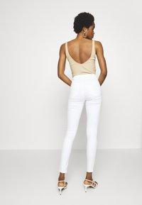 Topshop - JONI  - Jeans Skinny Fit - white - 2
