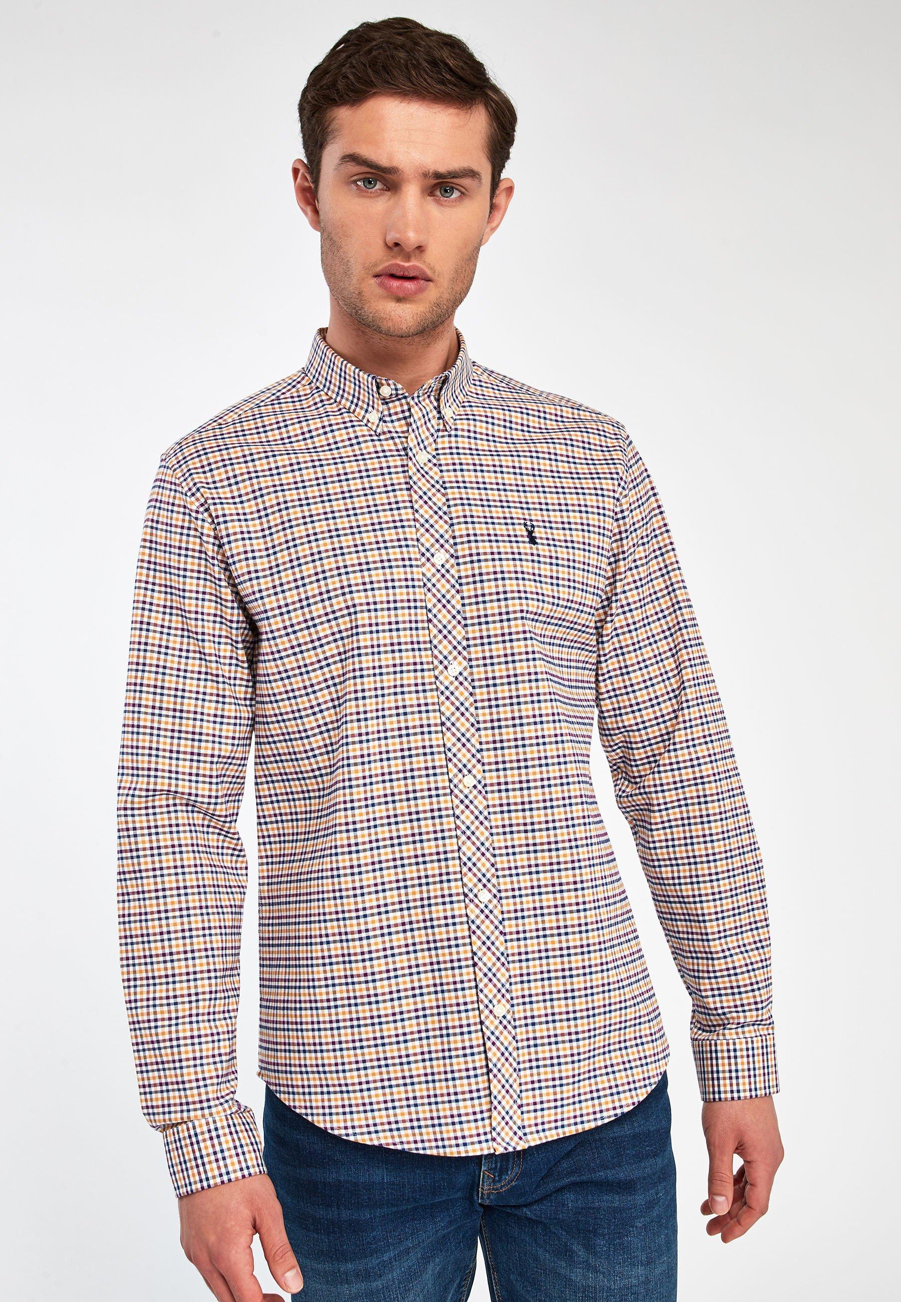 Uomo GINGHAM OXFORD  - Camicia