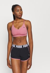 Puma - LOW IMPACT STRAPPY BRA - Sport-bh met light support - foxglove - 0