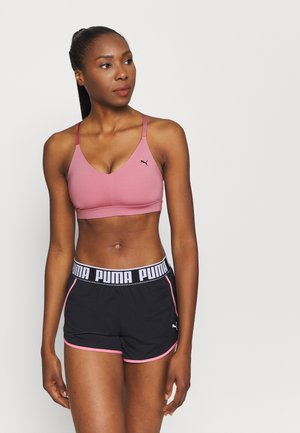 LOW IMPACT STRAPPY BRA - Sports-BH - foxglove