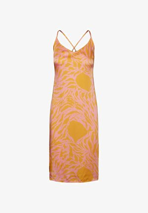 Day dress - saffron