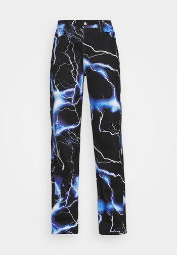 LIGHTNING - Straight leg jeans - blue