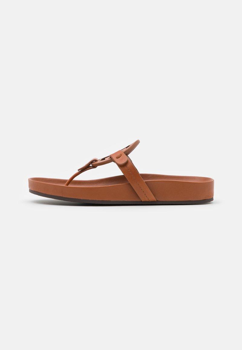 Tory Burch - MILLER CLOUD - Sandály s odděleným palcem - aged camello