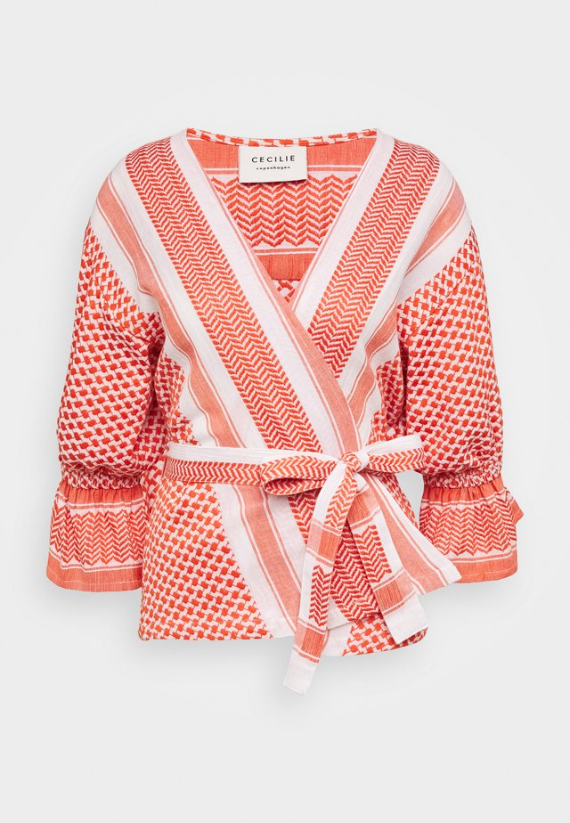 ULRIKKE - Blouse - coral