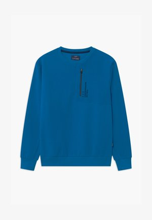 VIBES - Long sleeved top - blue