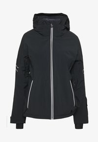 Salomon - THE BRILLIANT JACKET - Skijakke - black/white - 0