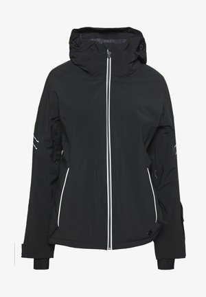 THE BRILLIANT JACKET - Ski jacket - black/white