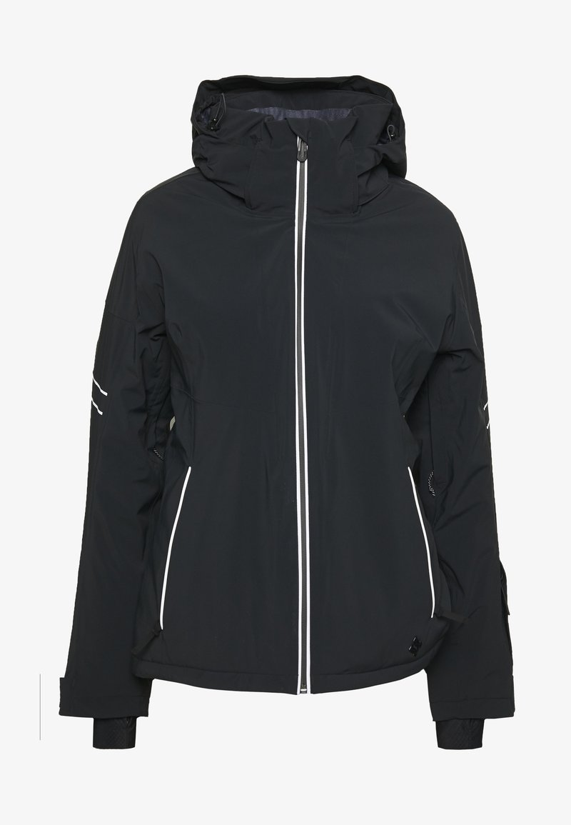 Salomon - THE BRILLIANT JACKET - Skijakke - black/white