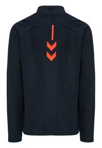 Hummel - ACTION  - Sweatshirt - dark sapphire/fiesta - 1