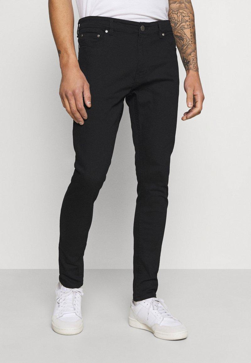 Brave Soul - JAMIE - Jeans Skinny Fit - black denim