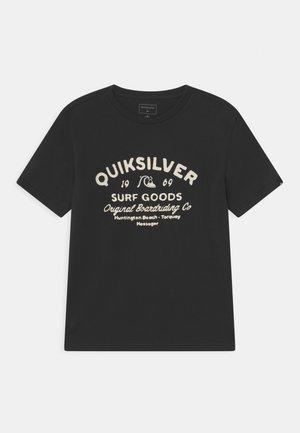 CLOSED CAPTIONS - T-shirt imprimé - black