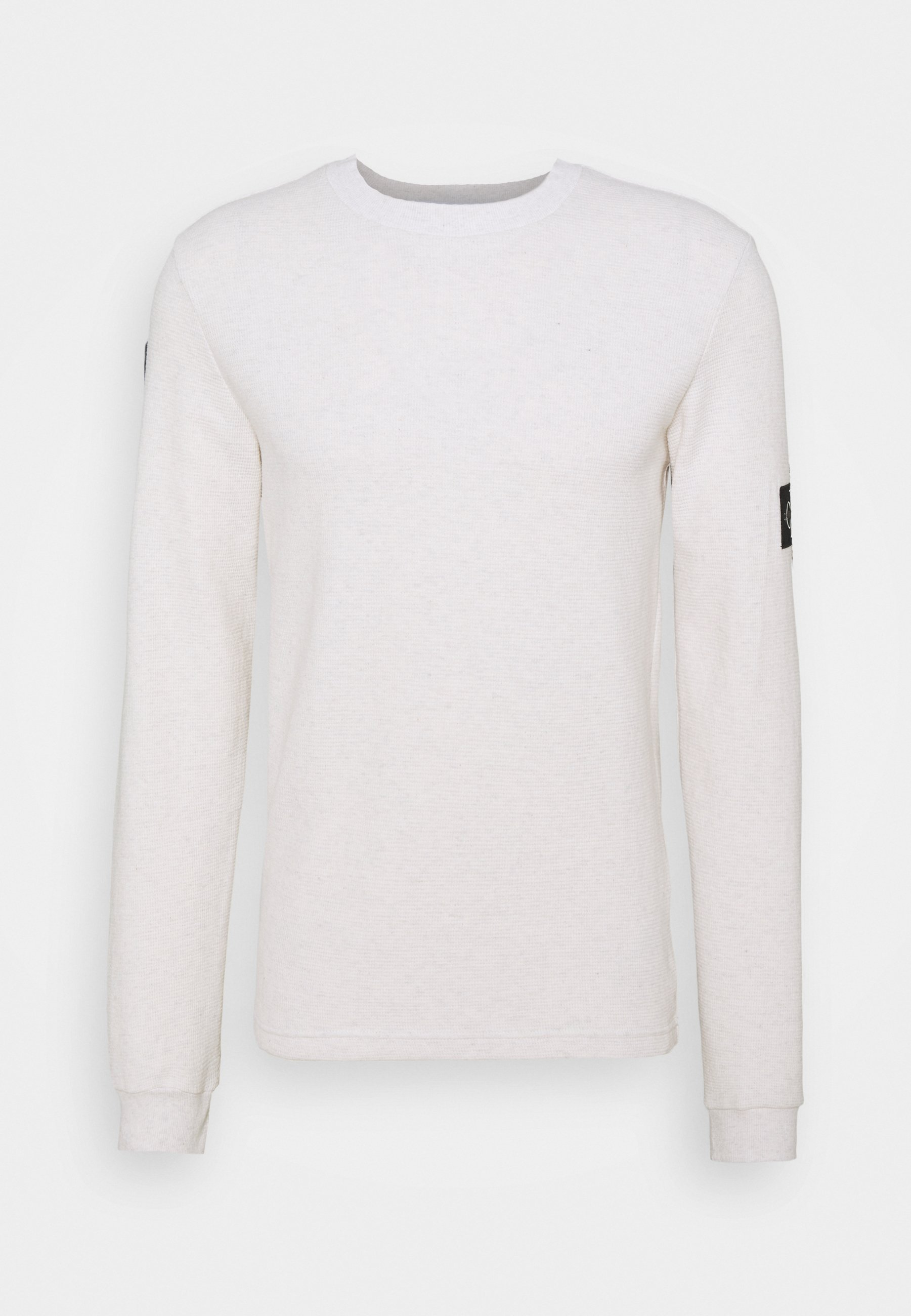 Homme MONOGRAM BADGE WAFFLE - Pullover