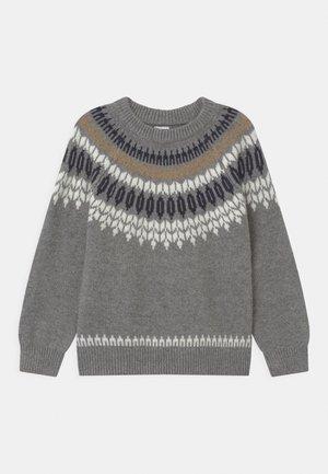 ISLE - Trui - grey melange