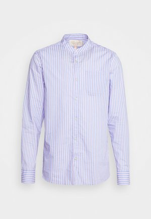LIGHTWEIGHT STRIPED SHIRT - Shirt - purple/white