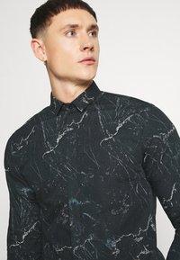 Twisted Tailor - MARON SHIRT - Formal shirt - black - 3