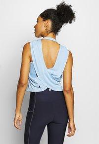 Cotton On Body - CROSS BACK TANK - Top - skye blue marle - 2