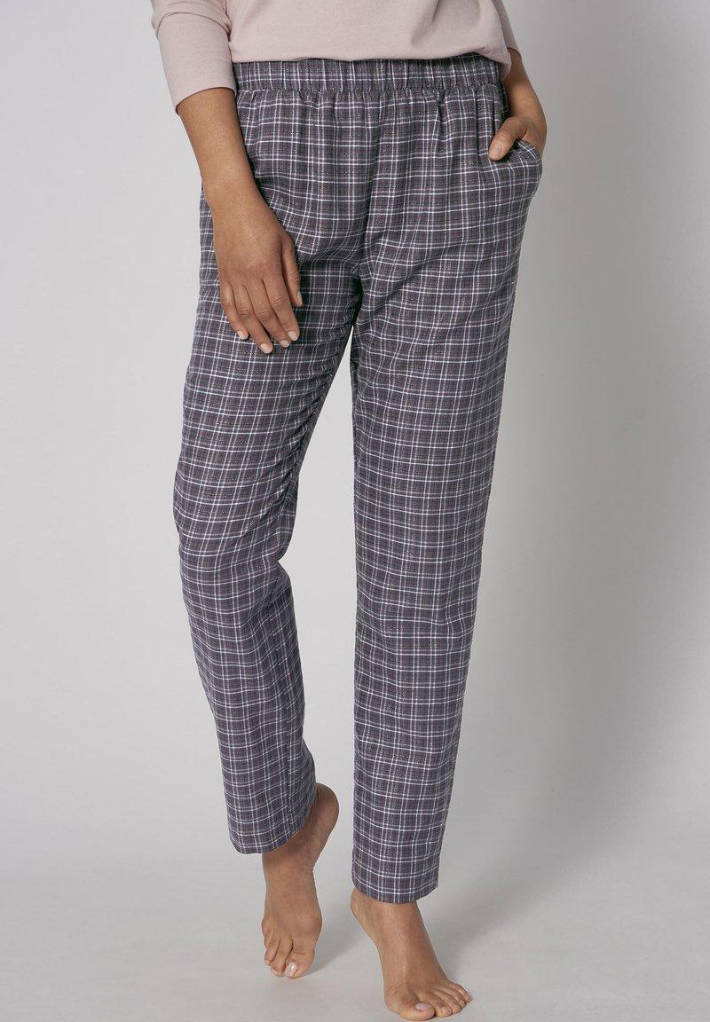 Triumph - MIX & MATCH TAPERED - Pyjama bottoms - pebble grey
