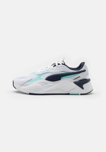 RS-X³ HARD DRIVE UNISEX - Sneakers laag - white/blue