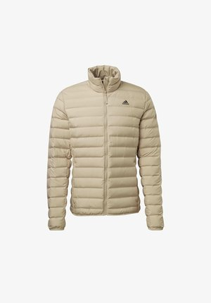 VARILITE SOFT OUTDOOR DOWN - Down jacket - beige
