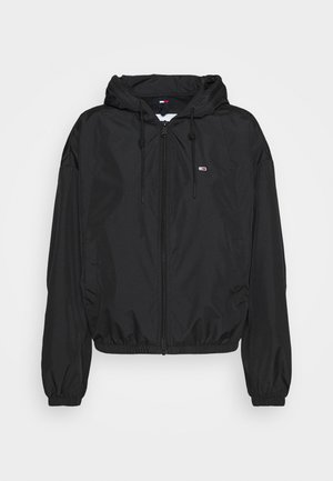 YOKE TAPE WINDBREAKER - Summer jacket - black