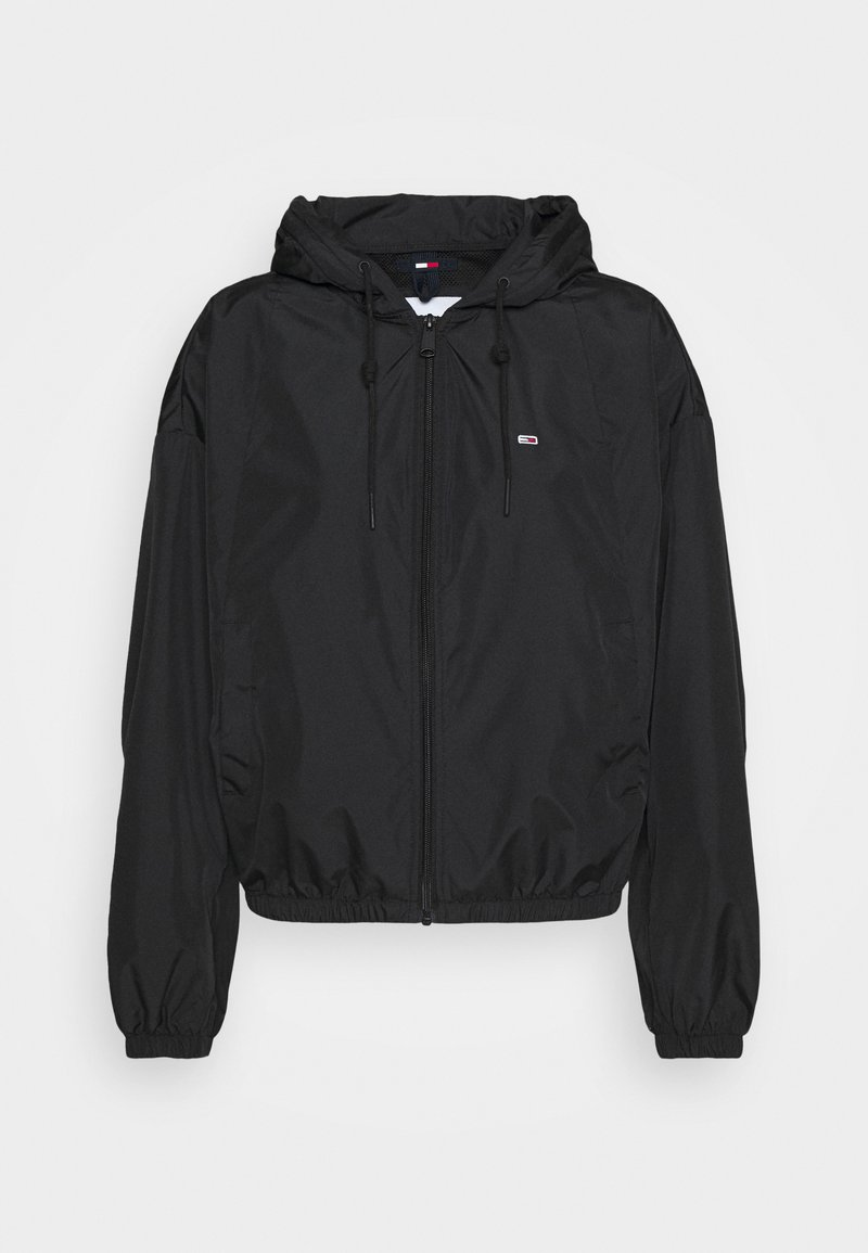 Tommy Jeans - YOKE TAPE  - Windbreaker - black