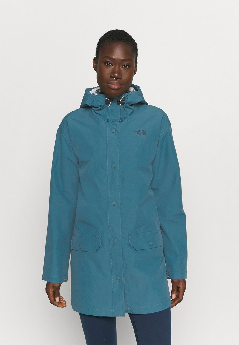 The North Face - LIBERTY WOODMONT RAIN JACKET - Regenjacke / wasserabweisende Jacke - mallard blue