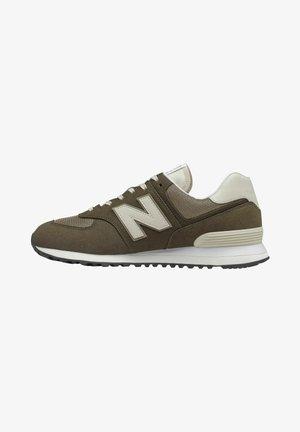 574 RUGGED - Sneakers - blackolive/mushroom