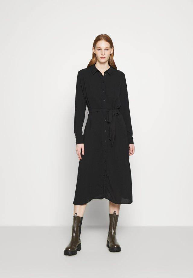 JDYPIPER ABOVE CALF DRESS - Paitamekko - black