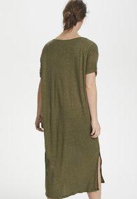 Cream - PITTACR  - Jersey dress - burnt olive - 2