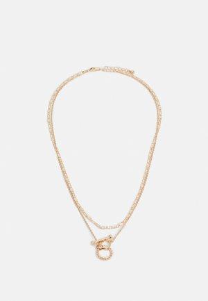 PCDUNIA COMBI NECKLACE - Necklace - gold-coloured