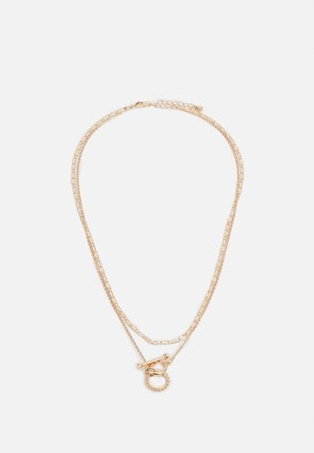 PCDUNIA COMBI NECKLACE - Ketting - gold-coloured